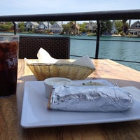 Photo taken at Waterfront Pizza by Marco A. on 5/1/2012