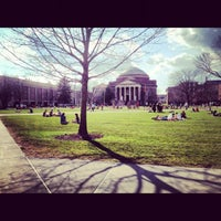Photo taken at Syracuse University Quad by Sam W. on 3/21/2012