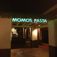 Photo taken at Momo's Pasta by Javier P. on 8/23/2012