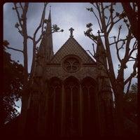Photo taken at St Mary Abbots Gardens by manoela on 6/16/2012