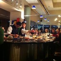 Photo taken at Blowfish Restaurant by Leon-Niel W. on 8/23/2012