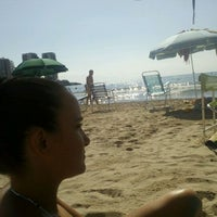 Photo taken at Playa De La Concha by Manuel P. on 8/4/2012