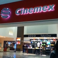 Photo taken at Cinemex by Angel G. on 4/22/2012