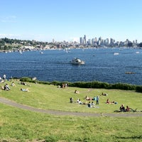 Photo taken at Gas Works Park by Ann J. on 5/27/2012