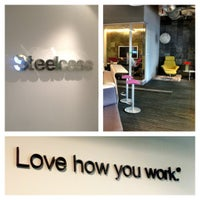 Photo taken at Steelcase Mexico Worklife by Itzel Y. on 8/27/2012