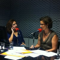 Photo taken at Rádio O POVO CBN Fortaleza FM 95.5 by Jack B. on 3/16/2012