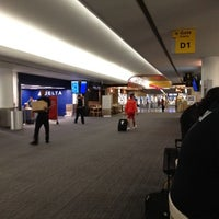 Photo taken at Terminal D (Delta Terminal) by Bernardo M. on 7/25/2012