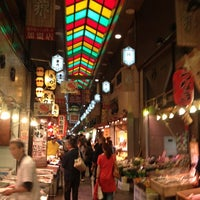 Photo taken at Nishiki Market by Hirotada U. on 6/16/2012
