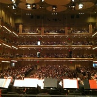 Photo taken at David Geffen Hall by Lena L. on 8/19/2012