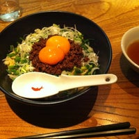 Photo taken at 麻布麺房 どらいち by Go H. on 4/1/2012