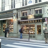 Photo taken at Ladurée Paris Bonaparte by Rafael R. on 2/19/2012