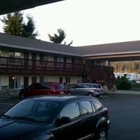Photo taken at Mill Village Motel by Nick S. on 8/18/2012