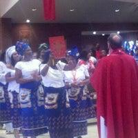 Photo taken at Corpus Christi Catholic Parish by Vickie F. on 5/27/2012