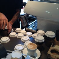 Photo taken at Uno Espresso by Tony H. on 4/9/2012