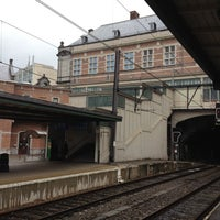 Photo taken at Gare de Verviers-Central by shiro h. on 8/31/2012
