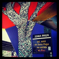 Photo taken at Paradero PC876 (Parada 5) by Oscar J. on 3/18/2012