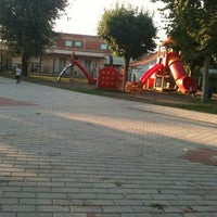Photo taken at Parco Giochi ex Spigarelli by Elena D. on 8/22/2012