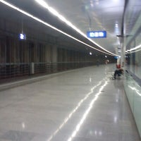 Photo taken at Vienna Airport Station by Christin on 5/29/2012