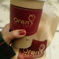 Photo taken at Oren's Daily Roast by Y N. on 4/24/2012