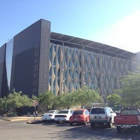 Photo taken at Phoenix Public Library - Burton Barr Central Library by Jorge S. on 6/17/2012