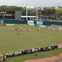 Photo taken at Al Lang Stadium by Chelsea T. on 7/4/2012