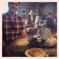 Photo taken at Amelie's French Bakery by Meredith A. on 7/28/2012