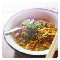 Photo taken at ร้านอาหารข้างโรงหนัง by Pichaya K. on 6/16/2012