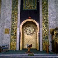 Photo taken at Masjid Nasional Al-Akbar by H. Rial W. on 8/12/2012