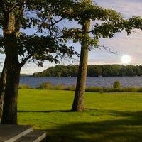 Photo taken at Madden's Resort on Gull Lake by Chris R. on 9/7/2012