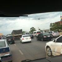 Photo taken at ถนน พระราม2 สมุทรสงคราม by yingbua _. on 6/4/2012