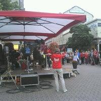 Photo taken at Eetunaukio by Tuomas M. on 7/17/2012