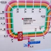 Photo taken at JR Nishikujō Station by Donny K. on 5/6/2012