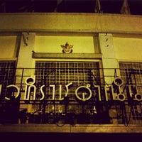 Photo taken at Rajadamnern Stadium by Parinya S. on 6/19/2012