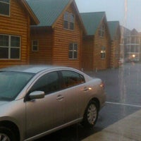 Photo taken at Cabins Of Mackinaw by Lynn S. on 6/18/2012