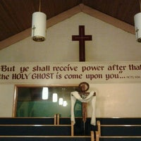 Photo taken at Argo Temple Church of God by Kenisha C. on 5/27/2012
