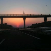 Photo taken at Autovia A-22 (Huesca-Lérida) by Luis C. on 7/30/2012
