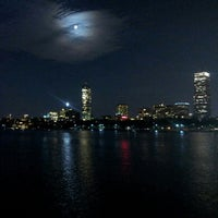 Photo taken at Harvard Bridge by Mitchell M. on 9/1/2012