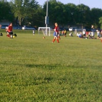 Photo taken at Coon Rapids Soccer Complex by Erika U. on 5/22/2012