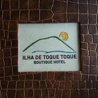 Foto tirada no(a) Ilha de Toque Toque Boutique Hotel por Gustavo P. em 7/21/2012