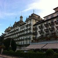 Foto scattata a Grand Hotel Des Iles Borromees Stresa da Roberto T. il 8/29/2012
