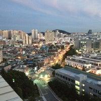 Photo taken at LG제1연구단지 옥상 by Chris S. on 8/23/2012