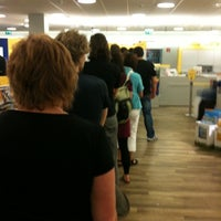Photo taken at Post   Postbank by Ronny M. on 7/25/2012