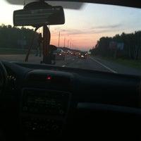 Photo taken at М-2 Симферопольское шоссе by Katya Z. on 7/8/2012