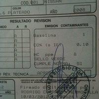 Photo taken at PRT - Planta de Revisión Técnica by Patricio A. on 3/10/2012