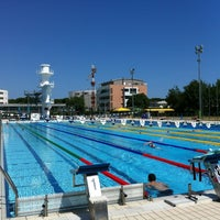 Photo taken at Stadio Del Nuoto by Stephen K. on 6/28/2012