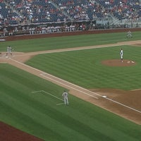 Photo taken at Allstate College World Series Fan Zone by Bruce C. on 6/16/2012