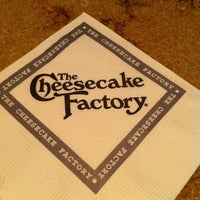 Photo taken at The Cheesecake Factory by Luca B. on 4/21/2012