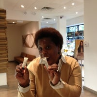 Photo taken at Michael Anthony Salon & Spa by Temple S. on 9/11/2012