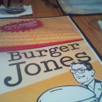 Photo taken at Burger Jones by Sara S. on 3/11/2012