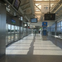 Photo taken at JFK AirTrain - Federal Circle Station by Rebeca S. on 8/18/2012